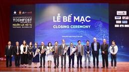 Techfest Vietnam 2019 a mobilisé un investissement total d'environ 14 millions de dollars
