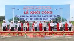 Mise en chantier d'un tronçon reliant Binh Duong, Binh Phuoc au Cambodge