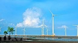 Mise en chantier d'une centrale d'électricité éolienne à Soc Trang