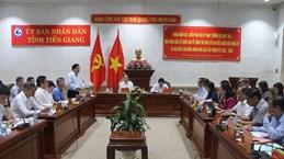 Le vice-président de l'AN inspecte les préparatifs des élections législatives à Tien Giang