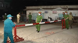 COVID-19: Vinh Phuc inspecte les étrangers en séjour irrégulier