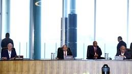 Le PM Nguyen Xuan Phuc au Dialogue entre les dirigeants des économies membres de l'APEC et le FMI