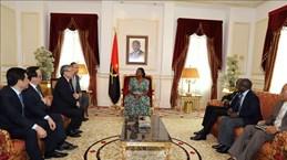 Une délégation du Parti en visite de travail en Angola