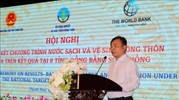 Plusieurs habitants profitent du programme d'eau potable et d'hygiène environnementale