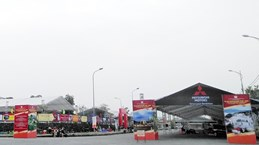 Ouverture de la foire commerciale internationale Vietnam - Chine 2019 à Lào Cai