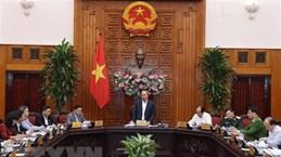 Le Premier ministre Nguyen Xuan Phuc se rend à Ha Tinh