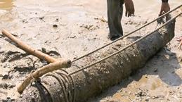Une bombe d'environ 230 kg neutralisée à Quang Tri