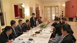 Une délégation du Parti en visite au Maroc