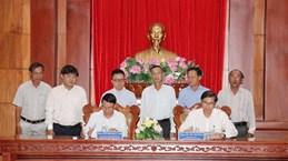 Renforcement de la coopération entre la VNA et Tien Giang