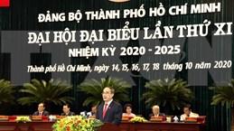 Ouverture du 11e Congrès de l'organisation du Parti de Hô Chi Minh-Ville