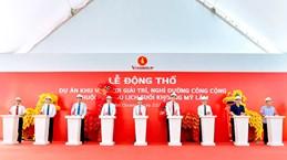 Mise en chantier d'une zone de divertissement et de villégiature à Tuyên Quang