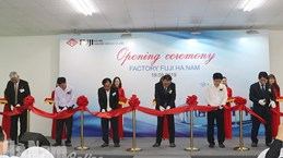 Ha Nam: Inauguration de l'usine Fuji Electric Industry Vietnam