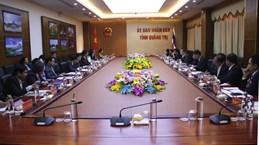 Quang Tri et la province thaïlandaise d'Ubon Ratchathani renforcent leur coopération
