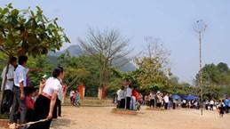 Lai Chau : bientôt le 6e Festival de jeu de lancer de balles d'étoffe Vietnam-Laos-Chine