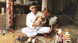 Rach, l'un des plus anciens villages de marionnettes sur l'eau du Nord