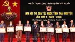 La présidente de l'AN au Congrès national de l'émulation patriotique de Thai Nguyên