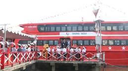 Inauguration de la ligne de navire à grande vitesse Can Tho-Tran De-Con Dao