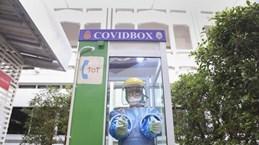 """COVID-19 : La Thaïlande installe des """"COVID Box"""" pour protéger les agents de santé"""