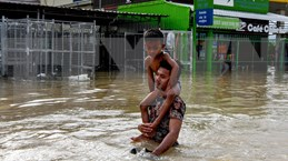 Inondations à grande échelle : le Cambodge  intensifie ses activités de secours