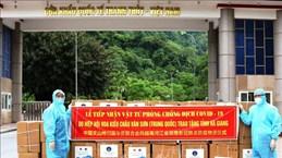 Ha Giang reçoit des dons médicaux de la province chinois de Yunnan