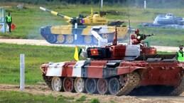 Army Games 2021: bonne performance de l'équipe vietnamienne de chars