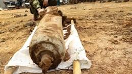 Une bombe de 100 kg désactivée à Dien Bien
