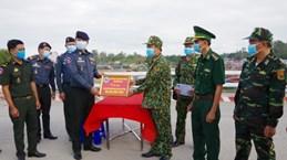 Dong Thap soutient la province cambodgienne de Prey Veng dans la lutte contre le COVID-19
