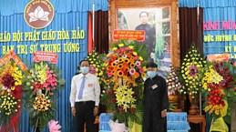 An Giang: Célébration du 101e anniversaire de la naissance du fondateur du bouddhisme Hoa Hao