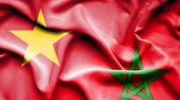 Félicitations à l'occasion des 60 ans des relations Vietnam-Maroc