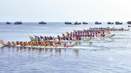 """Quang Ngai : la course de bateaux """"Tu Linh"""" reconnue Patrimoine culturel immatériel national"""