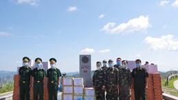Dien Bien soutient des provinces laotiennes dans la lutte anti-COVID-19