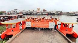 Le groupe sud-coréen Hanwha aide à nettoyer le Mékong