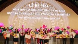 Clôture de la 5e Fête de la culture, des sports et du tourisme des Cham à Phu Yen
