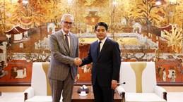 Hanoï tient toujours en haute estime sa coopération avec des localités allemandes