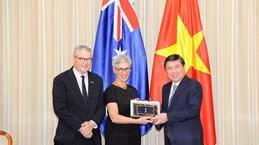 Ho Chi Minh-Ville et l'État australien de Victoria renforcent leur coopération dans l'innovation