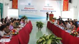 Vietnam-Cambodge: Promotion du rôle des femmes dans l'édification d'une frontière de paix