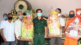 Tay Ninh: Voeux aux Khmers à l'occasion de la fête Chol Chnam Thmay