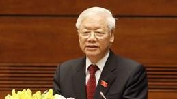 Le secrétaire général Nguyen Phu Trong lance un appel pour contenir le COVID-19