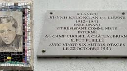 Célébration du 80e anniversaire de la mort du martyr Huynh Khuong An à Paris