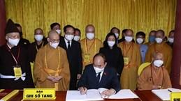 De nombreuses délégations rendent un dernier hommage au vénérable Thich Pho Tue