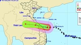 Le typhon Noul devrait toucher terre ce vendredi après-midi