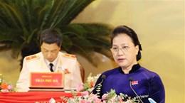 La présidente de l'AN présente au Congrès de l'organisation du Parti de Thanh Hoa