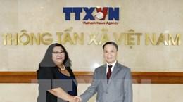L'agence de presse mongole MONTSAME félicite la VNA