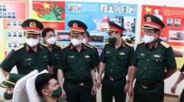Les officiers et soldats se mobilisent massivement pour donner leur sang