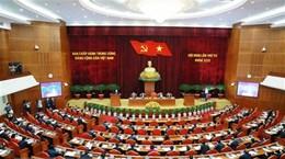 Première journée de travail du 4e Plénum du Comité central du Parti