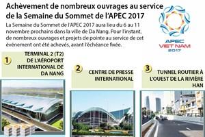 Achèvement de nombreux ouvrages au service  de la Semaine du Sommet de l'APEC 2017