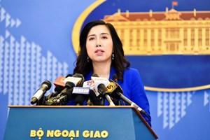 La Chine doit respecter la souveraineté du Vietnam sur les deux archipels de Hoang Sa et Truong Sa