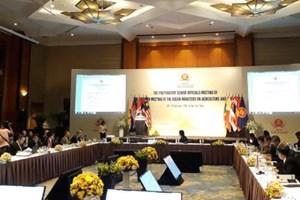 Agriculture et sylviculture : conférence des hauts officiels de l'ASEAN à Hanoï