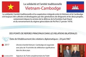 La solidarité et l'amitié traditionnelle Vietnam-Cambodge