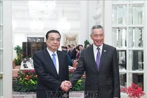 Singapour et la Chine s'engagent à travailler ensemble pour promouvoir les relations Chine-ASEAN